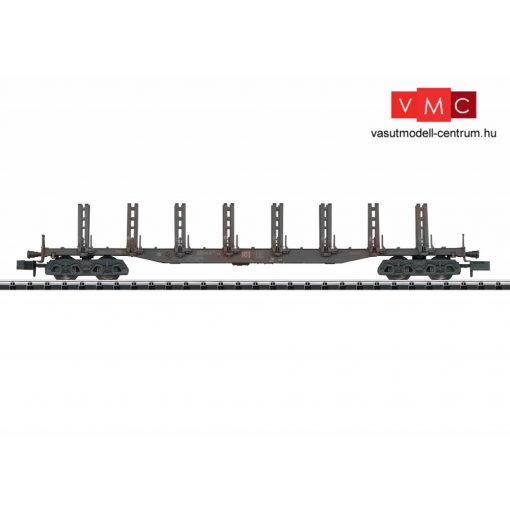 Trix 15485 Rakoncás négytengelyes teherkocsi rönkfa szállításhoz, Snps, DB-AG (E6) (N)