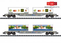 Trix 15488 Containertragwagen-Set Kühltr