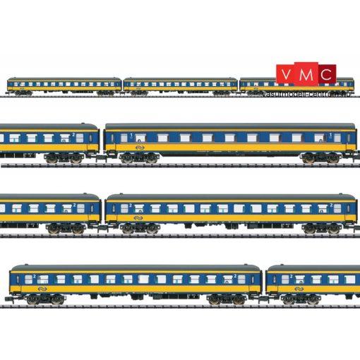 Trix 15547 Személykocsi-készlet, 3-részes négytengelyes Aimz, 2x Bimz, ICL, NS (E6) (N)