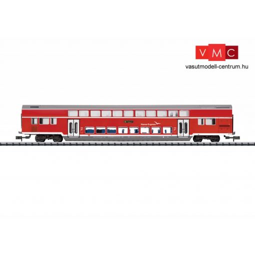 Trix 15775 Emeletes személykocsi, DBpza 780.1, 2. osztály, Hanse-Express, DB-AG (E6) (N) - be