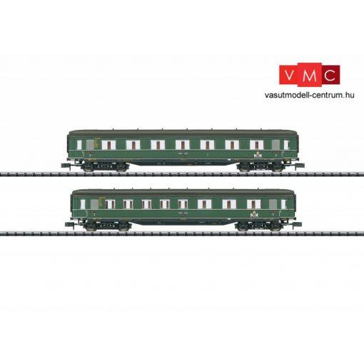 Trix 15802 Személykocsi-pár, négytengelyes AB4ü-39 1./2. osztály + BC4ü-39 2./3. osztály