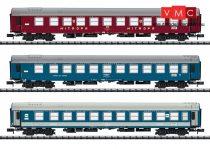 Trix 15996 Személykocsi-készlet, 3-részes, négytengelyes hálókocsik, Balt-Orient-Express