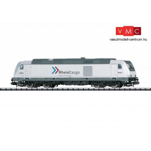 Trix 16641 Dízelmozdony BR 285 TRAXX, Rhein Cargo GmbH & Co. KG (E6) (N) - DCC dekóderrel