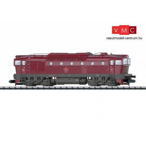 Trix 16731 Dízelmozdony T478.3, CSD (E4) (N) - Sound