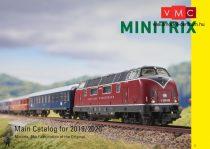 Trix 19844 MINITRIX Termékkatalógus 2019/2020, angol nyelven (N)