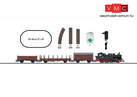 Trix 21530 Analóg kezdőkészlet: BR 74 gőzmozdony tehervonattal, DB, ovál pályával (H0) (