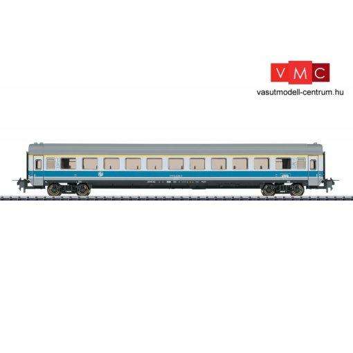 Trix 31161 Személykocsi, négytengelyes Aeelmt, EC termes 1. osztály, MIMARA - Zagreb-Leipzig
