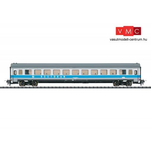 Trix 31163 Étkezőkocsi, négytengelyes WReelmt, MIMARA - Zagreb-Leipzig, HZ (E4) (H0) - Trix-Express
