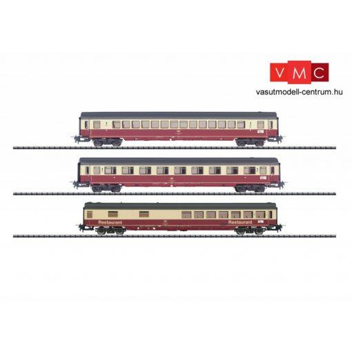 Trix 31164 Személykocsi-készlet, 3-részes Apmz, Avmz, WRmh, IC Hohenstaufen, DB (E4) (H0) -