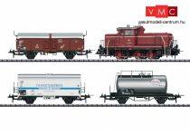 Trix 31181 Tehervonat-készlet: V60 dízelmozdony 3 db teherkocsival, DB (E3) (H0) - Trix-Express