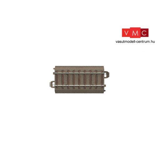 Trix 62071 Ágyazatos egyenes sín 70,8 mm - Trix C-Gleis (H0)
