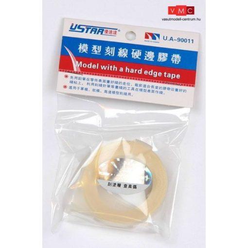 U-STAR UA90011W Panelező maszkoló szalag (fehér) - Line Marking Tape (9mmx3m, white color)