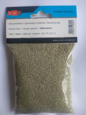 VMC 10856 Szórható zöld kavics (200ml), szemcsenagyság: 1,5 mm