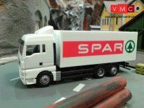 VMC 80102 MAN TGX XLX dobozos teherautó, SPAR felirattal (H0)