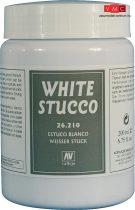 Vallejo 26210 Texture - White Stucco 200 ml - diorámakészítéshez