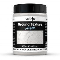 Vallejo 26212 Stone Texture - White Pumice 200 ml - fehér mikroszemcsés paszta diorámakészítéshez