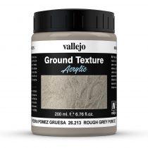Vallejo 26213 Stone Texture - Rough Grey Pumice 200 ml - szürke mikroszemcsés paszta dioráma