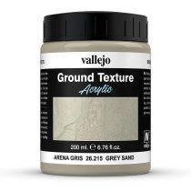 Vallejo 26215 Stone Texture - Gray Sand 200 ml, homokszínű mikroszemcsés paszta diorámakés