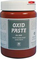 Vallejo 26589 Textures - Red Oxid Paste 200 ml - diorámakészítéshez
