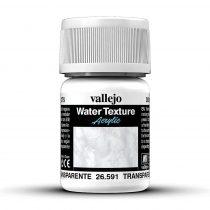 Vallejo 26591 Transparent Water 30 ml - diorámakészítéshez