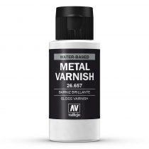 Vallejo 26657 Metal Varnish 60 ml - akril metálfényű lakk