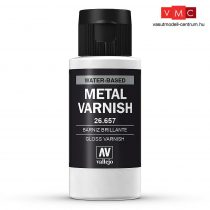Vallejo 26657 Metal Varnish 60 ml - akril metálfényű lakk