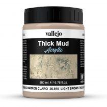 Vallejo 26810 Weathering Effects - Light Brown Mud (200 ml)
