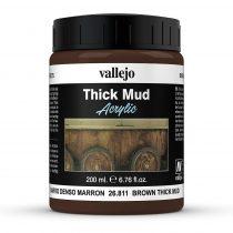 Vallejo 26811 Weathering Effects - Brown Mud (200 ml)