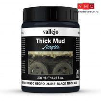 Vallejo 26812 Weathering Effects - Black Mud (200 ml)