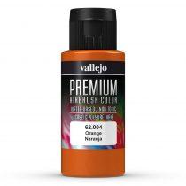 Vallejo 62004 Orange - Premium Opaque (Acrylic Polyurethane Airbrush Color) 60 ml