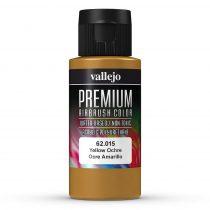 Vallejo 62015 Yellow Ochre - Premium Opaque (Acrylic Polyurethane Airbrush Color) 60 ml