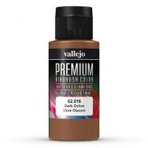 Vallejo 62016 Dark Ochre - Premium Opaque (Acrylic Polyurethane Airbrush Color) 60 ml