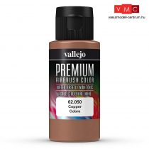Vallejo 62050 Metallic Copper - Premium Opaque (Acrylic Polyurethane Airbrush Color) 60 ml