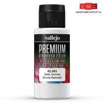 Vallejo 62063 Satin Varnish - Premium Opaque (Acrylic Polyurethane Airbrush Color) 60 ml
