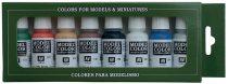 Vallejo 70103 Model Color set - Wargame Basics (8 x 17 ml color set)