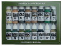 Vallejo 70109 Model Color set - Alied Forces WWII (16 x 17 ml color set)