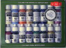 Vallejo 70110 Model Color set - Napoleonics (16 x 17 ml color set)