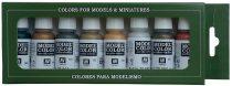 Vallejo 70118 Model Color set - Metallic Colors (8 x 17 ml color set)