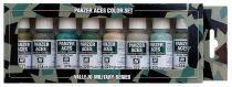 Vallejo 70126 Model Color set - Panzer Aces No.3 - Alied Crew uniforms WWII (8 x 17 ml color se