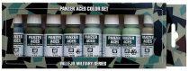 Vallejo 70127 Model Color set - Panzer Aces No.4 - Crew uniforms (8 x 17 ml color set)