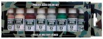 Vallejo 70129 Model Color set - Panzer Aces No.6 - Skintones & Camouflage (8 x 17 ml color set)