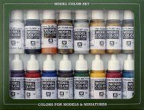 Vallejo 70143 Model Color set - Imperial Roman (16 x 17 ml color set)