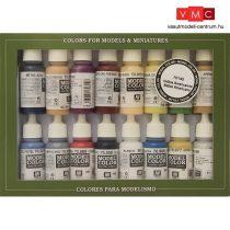 Vallejo 70145 Model Color set - Native American / Indian (16 x 17 ml color set)