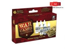 Vallejo 70155 War Games Paint Series - German Armor Paint Set (6 x 17ml)