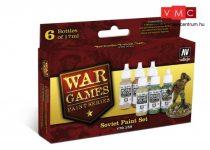 Vallejo 70159 War Games Paint Series - Soviet Paint Set (6 x 17ml)
