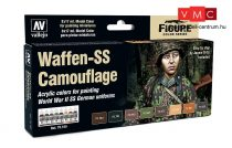 Vallejo 70180 Model Color Set - Waffen SS Camouflage Set (8 x 17ml)