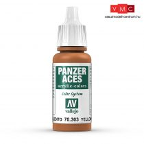 Vallejo 70303 Yellowish Rust - 17 ml (Panzer Aces)