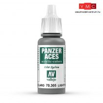 Vallejo 70305 Light Rubber - 17 ml (Panzer Aces)