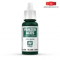 Vallejo 70308 Green Tail Light Green - 17 ml (Panzer Aces)