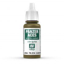 Vallejo 70314 Canvas - 17 ml (Panzer Aces)